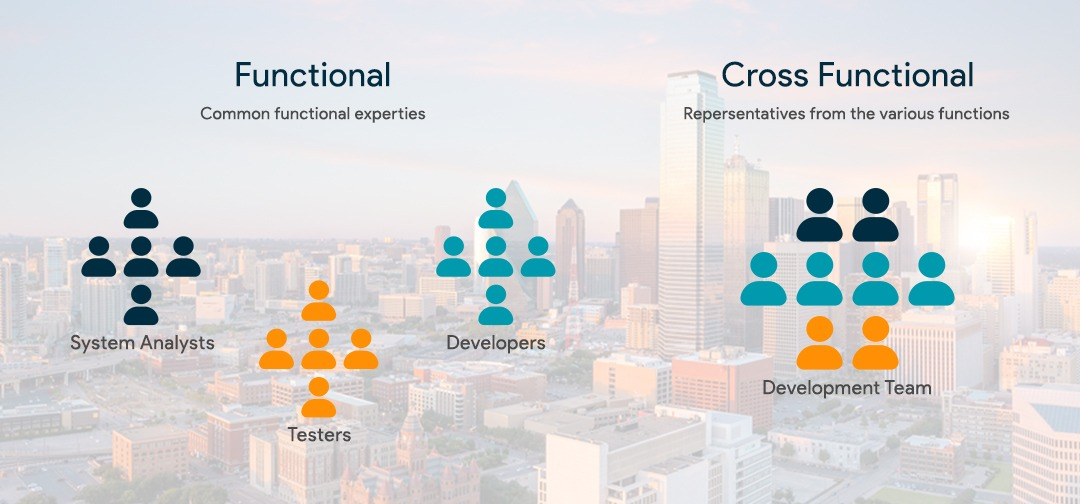 what is Cross-functional team