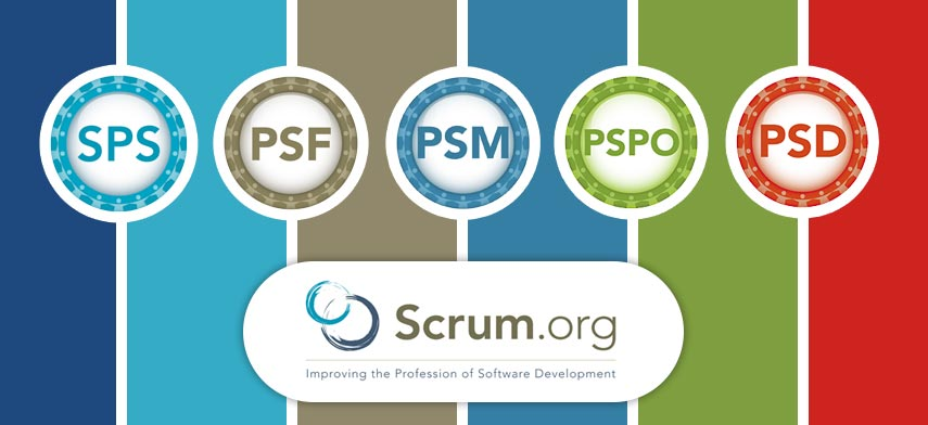 Professional Scrum trainings (PSM,-PSD, PSF, PSPO, SPS) provides TWO free exams
