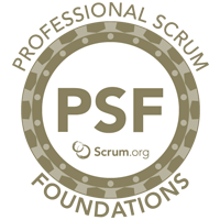 Professional Scrum Foundations Banner Logo