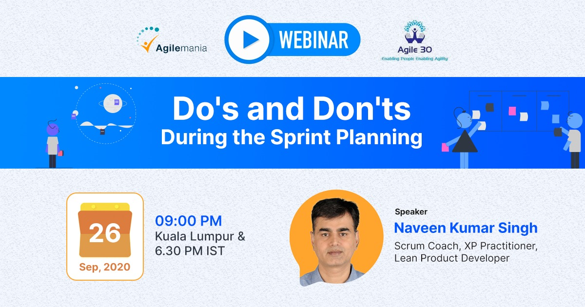 Do's and Don't webinar by Naveen Singh