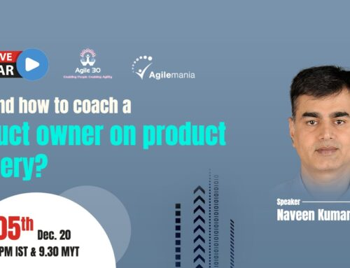 How to Coach a Product Owner on Product Mastery
